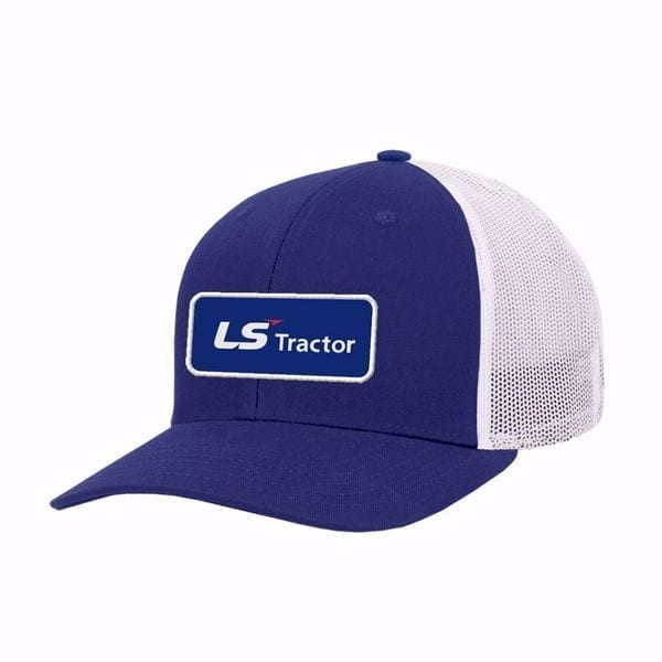 LS Tractor Blue Patch Hat