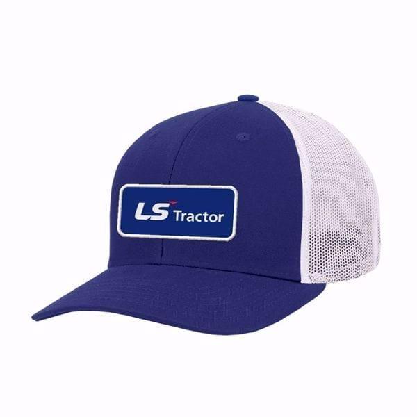 Chapeau bleu de correction de tracteur de LS