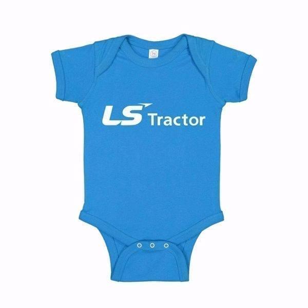 LS Tractor Baby Onesie
